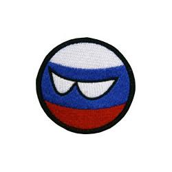 "Патч ""Countryball Россия"", диаметр 5.5 см"
