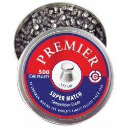 Пули пневматические Crosman Premier Super Match 4,5 мм 7,9 гран (500 шт.)