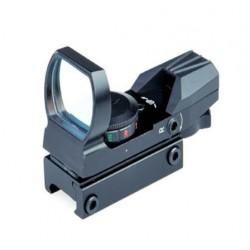 Коллиматор Target Optic 1x33 открытого типа, марка - сменная, на призму 11 мм