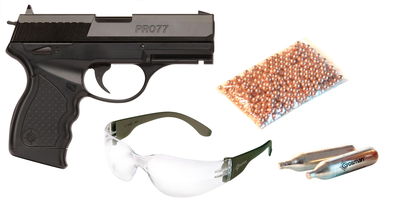 Пневматический пистолет Crosman PRO77 Kit купить c6b5a63f919b2