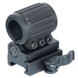 Кронштейн UTG для фонаря, на Weaver/Picatinny, диаметр 20-25мм., откидной, черный, алюминий, вес 119гр. 100 шт./уп.
