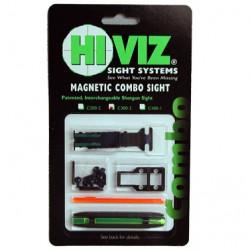HiViz комплект из мушки и целика (модели TS-2002 и M200) 4,2 мм - 6,7 мм