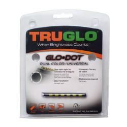 Мушка Truglo TG90D GLO-DOT двуцветная - зеленая/красная универсальная (уп./6шт.)