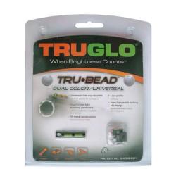 Мушка Truglo TG949D TRUBEAD двухцветная универсальная на любую вент. планку (уп./6шт.)