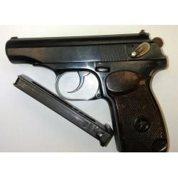 Охолощенный СХП пистолет Макарова ПМ-СХ (1954 г. прямая рамка)