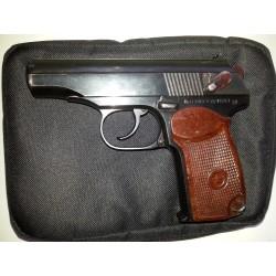 Охолощенный СХП пистолет Макарова ПМ-СХ (1953 г. прямая рамка ушастый)