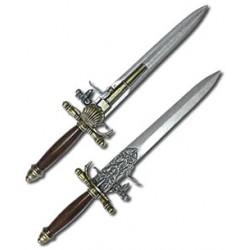 Пистолет-нож Франция XVIII век Denix 1204