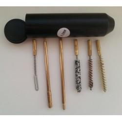 Набор для чистки пистолетов, кал.4,5 мм с латун. шомполом 4мм