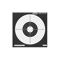 Мишень (Gletcher), 14 x 14 см, инверсная