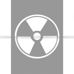 Трафарет для покраски магазинов (Hameleon camo) (Радиация)