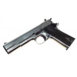 Охолощенный пистолет CLT Colt 1911 хром CO калибр 10х24
