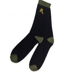 Носки облегченные для зимней охоты 40 Den черн/зелен Remington