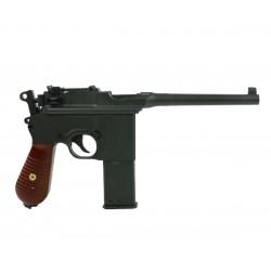 Пистолет пневм. Umarex Legends C96 сплав, черный (Blowback)