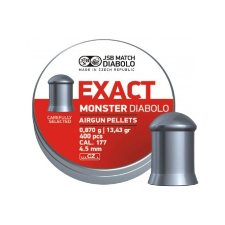 Пули пневматические EXACT Monster Diabolo 4,5 мм 0,87 грамма