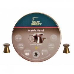 Пули пневматические H&N Match PIstol 4,5 мм 0,50 грамма (500 шт.)