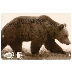 Мишень Медведь 1х1,5 м