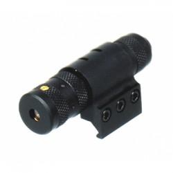 Лазерный целеуказатель Leapers кронштейн на Weaver/Picatinny, выносная кнопка, красный