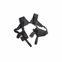 Кобура наплечная для револьверов Dan Wesson черная