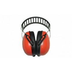 Наушники Arton металлическое изголовье, красные, супер лёгкие 23 дБ