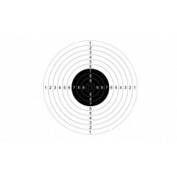 Мишень №9 для пневматических пистолетов 10 м (50 шт.)