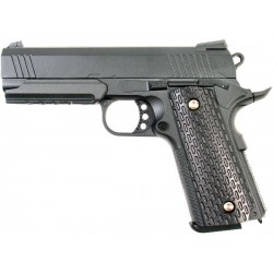 Cтрайкбольный пистолет Galaxy G.25 COLT1911PD Rail металлический, пружинный