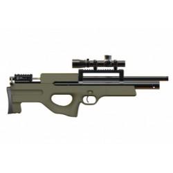 Пневматическая винтовка Ataman M2R Булл-пап укороченная 6,35 мм (Зелёный) (магазин в комплекте)