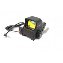 Коллиматорный прицел Sightmark панорамный с ЛЦУ (выносная кнопка), 4 марки, режим для ПНВ, быстросъемн. Weaver/Picatinny