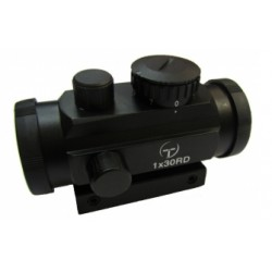 Коллиматор Target Optic 1x30 закрытого типа, марка - красная точка на призму 11мм