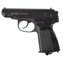 Пневматический пистолет МР-654К (черная обновленная рукоятка)
