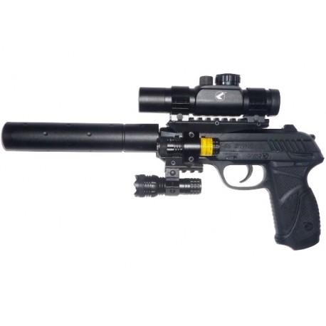 Пневматический пистолет GAMO PT- 85 Tactical Blowback pellet