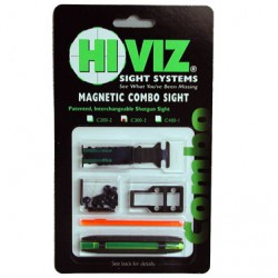 HiViz Комплект из мушки и целика (модели TS-1002 и M400) 8,2-11,3 мм