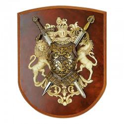 Панно мини - меч Ричарда Львиное Сердце, мини - меч Тизона Д`Сида