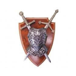 Панно мини - меч Эскалибр, мини - меч Тизона Д`Cида