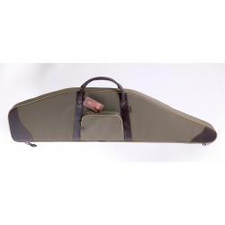 VEKTOR мягкий чехол из синтетической ткани с кожаной отделкой для винтовки с ночн прицелом, длина чехла 118см