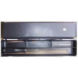 Набор для чистки оружия в кейсе, кал.4,5 мм с латунным шомполом 4мм.
