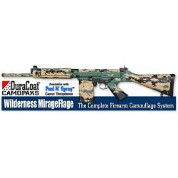 Цифровой камуфляж оружия Wilderness MirageFlage