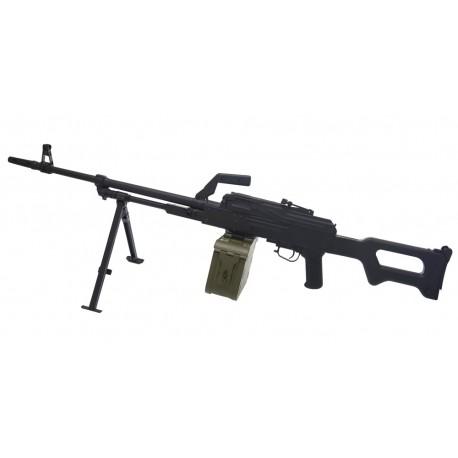 Пулемет Калашникова (ПКМ) страйкбольный A&K (металл, пластик)