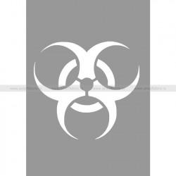 Трафарет для покраски магазинов (Hameleon camo) (Biohazard)