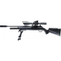 Пневматическая винтовка Umarex Walther 1250 Dominator FT, прицел Walther FT 8-32x56