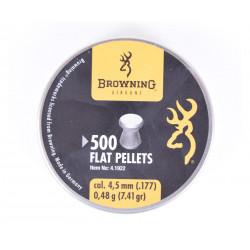 Пули пневматические Browning 4,5 мм, 0,48 грамма (500 шт)
