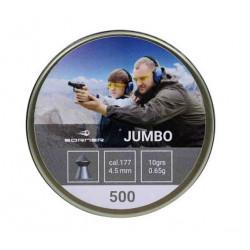 Пули пневматические Borner Jumbo 4,5 мм 0,65 г (500 шт.)