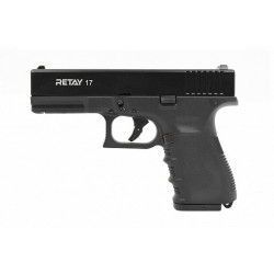 Охолощенный пистолет Retay 17 (Glock) кал.9mm P.A.K
