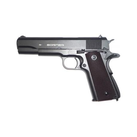 Пневматический пистолет Borner KMB76 4,5 мм