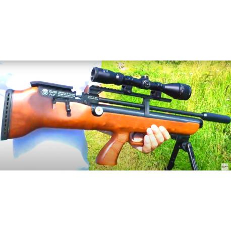 Пневм. винтовка PCP Hatsan FLASHPUP дерево к.6,35 б/у