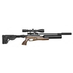 Пневм. винтовка PCP Jager SP 6,35 мм (прямоток, ствол 400 мм., полигональный без чока) Тактика с колбой