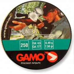 Пули пневматические GAMO Hunter IMPACT 4,5 мм 0,49 грамма (250 шт.)