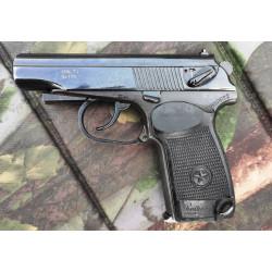 Охолощенный пистолет ИЖ-71 к.10х24 с креплением для ЛЦУ
