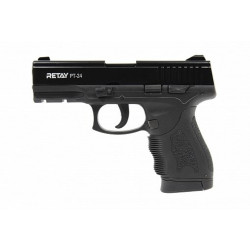 Охолощенный пистолет Retay PT24 (Taurus) 9mm P.A.K, ченый