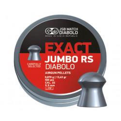 Пули пневматические JSB Exact Jumbo RS 5,52 мм 0,87 г, 500 шт.