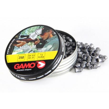 Пули пневматические GAMO Magnum ENERGY 4,5 мм 0,49 грамма (250 шт.)